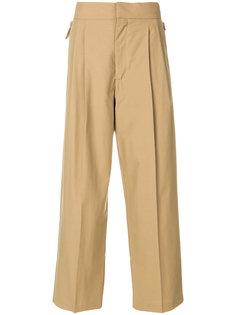 брюки с завышенной талией Erika Cavallini