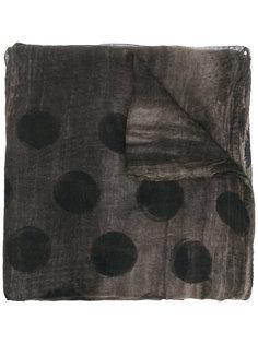шарф с узором в горох Uma Wang