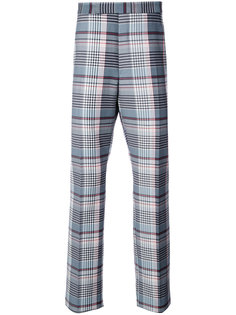 plaid tailored trousers Thom Browne
