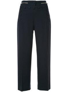 укороченные брюки с пуговицами  Markus Lupfer