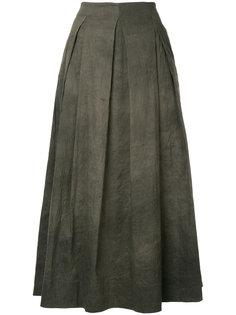 плиссированная юбка миди  Uma Wang