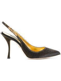 туфли с ремешком на пятке Dolce & Gabbana