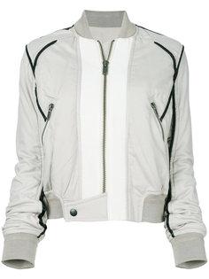 куртка-бомбер с контрастной строчкой Haider Ackermann