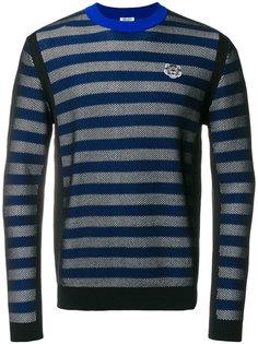 свитер с полосатым узором Mini Tiger Kenzo