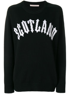 свитер Scotland Christopher Kane