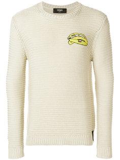 свитер с длинными рукавами Fendi