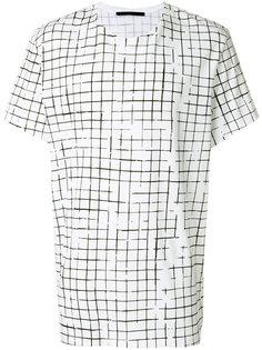 футболка с геометрическим принтом Haider Ackermann