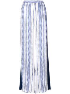 расклешенные брюки с принтом  Zeus+Dione