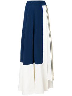 расклешенная юбка колор-блок  Zeus+Dione