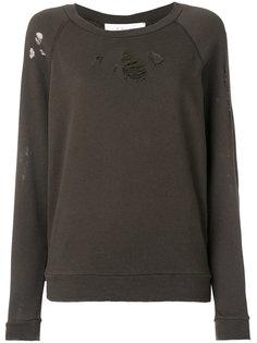 состаренный приталенный свитер Iro
