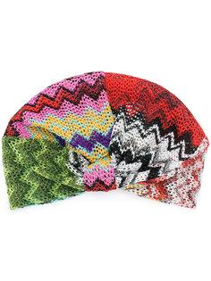 вязаная шапка с принтом Missoni
