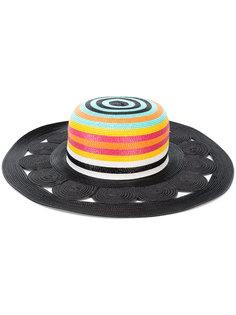 солнцезащитная шляпа с полосатым узором Missoni