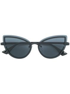 """солнцезащитные очки с оправой """"кошачий глаз"""" Le Specs"""