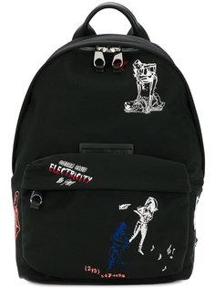 рюкзак с вышивкой McQ Alexander McQueen