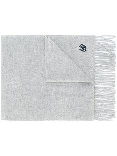 шарф с заплаткой в виде ласточки McQ Alexander McQueen