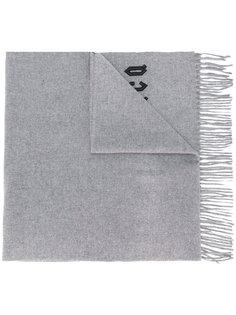 шарф с вышитым логотипом  McQ Alexander McQueen