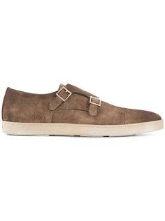 туфли-монки Sneaker Vintage Doppel Santoni