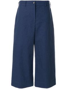 широкие укороченные брюки  Kenzo