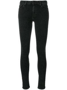 джинсы с вышивкой Off-White