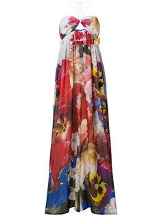 комбинезон с цветочным принтом Roberto Cavalli