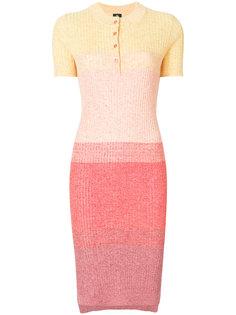 платье омбре в рубчик  Ps By Paul Smith