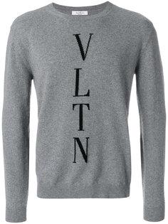 свитер с логотипом Valentino