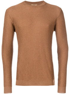 свитер вязки в клетку Nuur