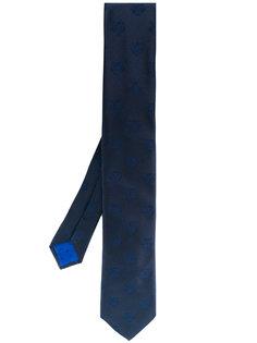 галстук с принтом тигров Kenzo