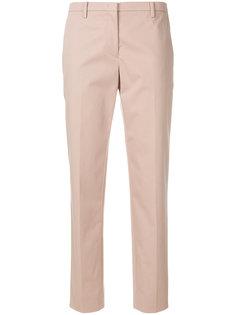 укороченные прямые брюки  Nº21