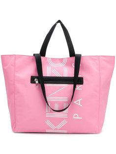 сумка-тоут с принтом логотипа Kenzo