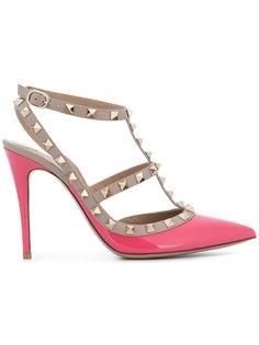 туфли-лодочки с открытой пяткой Rockstud Valentino