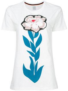 футболка с принтом цветка Paul Smith