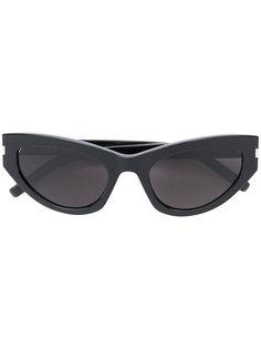 """солнцезащитные очки с оправой """"кошачий глаз"""" Saint Laurent"""