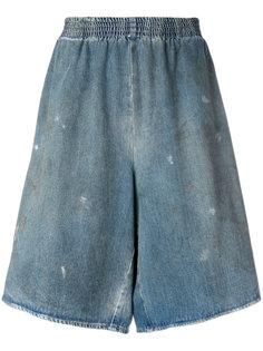 джинсовые кюлоты Mm6 Maison Margiela