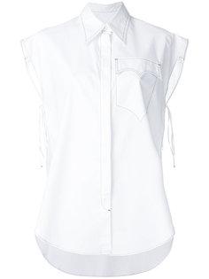оверсайз-рубашка с короткими рукавами  Mm6 Maison Margiela