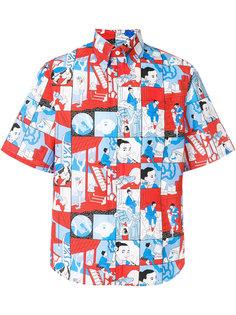 рубашка с анимационным принтом Prada