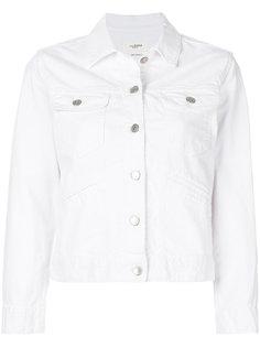 укороченная джинсовая куртка Isabel Marant Étoile