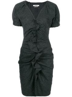 платье-футляр с оборкой  Isabel Marant Étoile