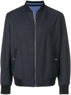 классическая куртка-бомбер Salvatore Ferragamo