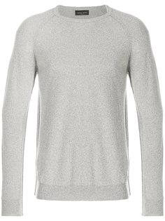 классический приталенный свитер Roberto Collina