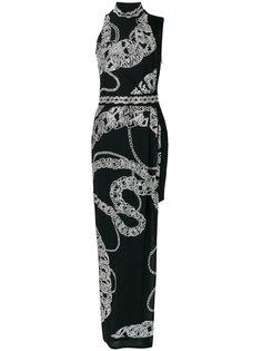 платье с цепочным узором Just Cavalli