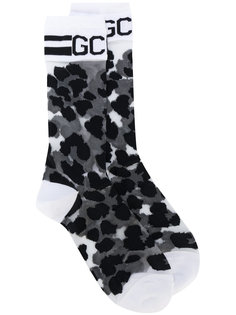 носки с вышивкой  Gcds