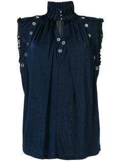 """блузка с вырезом """"замочная скважина"""" Just Cavalli"""