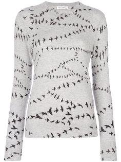 свитер с птицами Equipment