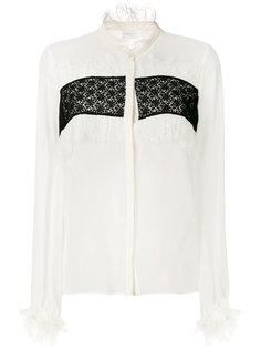 блузка с рюшами Giambattista Valli