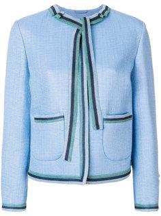 пиджак с контрастной окантовкой Ermanno Scervino