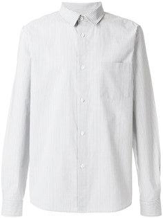прямая рубашка с полосатым узором A.P.C.