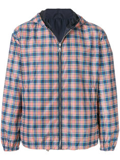 двухсторонняя куртка в клетку Prada