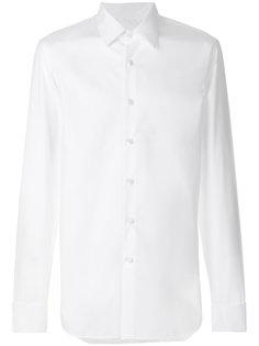 рубашка с классическим воротником Prada