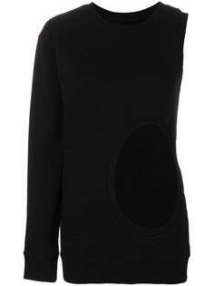 асимметричный свитер с вырезной деталью Faith Connexion